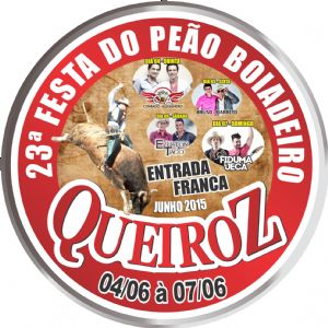 23ª Festa do Peão de Queiroz (SP) 2015